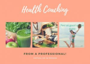 Health coaching, virtual, wellness, nutrition, functional fodmap